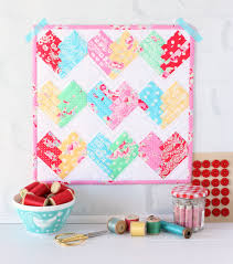 Home Patterns by Heart Of The Home Mini Quilt A Spoonful Of Sugar