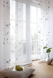 Schlafzimmer Fenster Abdunkeln Flächenvorhänge Zum Schieben Moderne Raumteiler