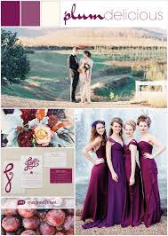 Sangria Colored Wedding Decorations Purple Wedding Inspiration You U0027ve Just Got To Seetruly Engaging