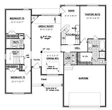 Merry 7 House Plan With Split Ranch Floor Plans Esprit Home Plan