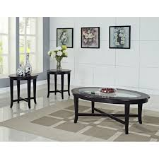 furniture oval glass coffee table set design ideas with wall art