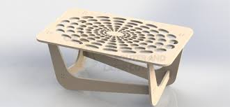 Laser Cutting Table Center Table Project Dxf File To Cut On Cnc Router Or Laser Aspire
