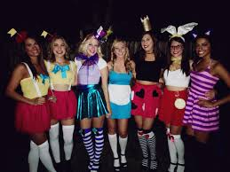 alice in wonderland costume spirit halloween alice in wonderland group costume holiday delights pinterest
