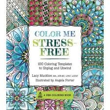 color stress free coloring book 100 coloring