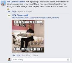 ikea puns ikea responds to customer questions on facebook with silly puns