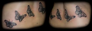 butterflies lower back picture tattooshunt com