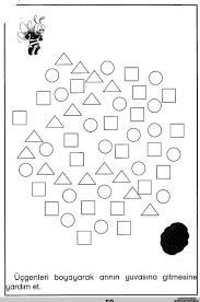printable shape maze worksheet for kids crafts and worksheets