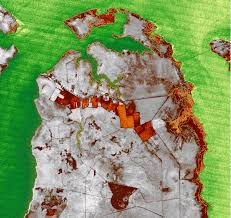 Map Of North Carolina Coast Monitoring Of Wetland U0026 Shoreline Changes In North Carolina