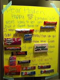 candy for birthdays 40 best birthdays images on candy bar posters