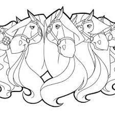 scarlet long mane horseland coloring pages batch coloring