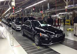 mercedes in tuscaloosa al mercedes plant rolls out alabama made c class sedan wbrc