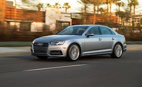 audi a4 white 2017 2017 audi a4 in depth model review car and driver