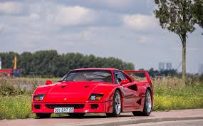 f40 for sale price nigel mansell s f40 sells at auction for just 543 375