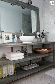 Open Shelf Bathroom Vanity Bathroom Inspiration Open Shelf Vanity Open Shelves Shelving