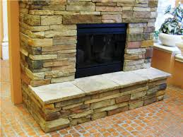 fireplace stone veneer binhminh decoration