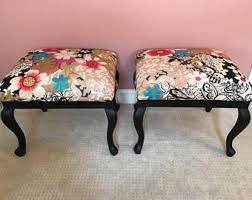 colorful ottoman etsy