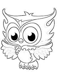 owl coloring pages printable 02 לתלות בכיתה free