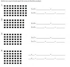 collection of solutions distributive property of multiplication