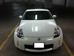 white nissan 2004 fs 2004 nissan 350z performance package white pearl nissan