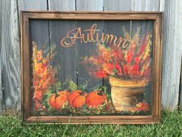 Where To Buy Fall Decorations - fall art made to order hand painting fall by rebecaflottarts