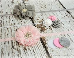 how to make baby headbands with flowers diy headband kit etsy