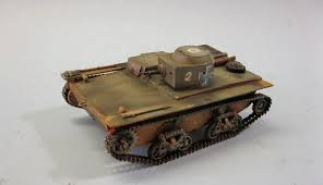 amphibious tank panzerserra bunker military scale models in 1 35 scale t 38