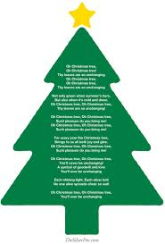 christmas o christmas tree chords guitar oh song words by nat