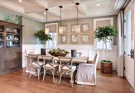 Traditional Dining Room With French Doors  Box Ceiling Zillow - Dining room with french doors