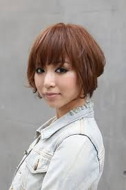 angled hairstyles for medium hair 2013 trendy short copper haircut from japan stacked short angled bob