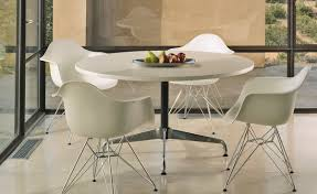 eames wire side table eames molded plastic armchair with wire base hivemodern com
