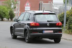black volkswagen tiguan spyshots all new 2015 volkswagen tiguan will be wider autoevolution