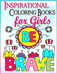 coloring books girls inspirational coloring book girls
