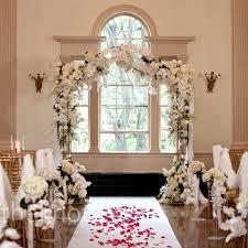 wedding arches inside best 25 indoor ceremony ideas on winter wedding venue