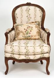 Long Ottoman Louis Xv Chair And Ottoman Chaise Lounge For Sale At 1stdibs