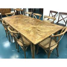 dining table french parquet dining table vintage drexel heritage