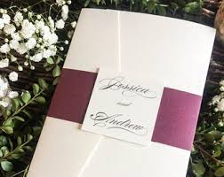 Wedding Invitations With Pockets Blush And Gold Glitter Pocket Wedding Invitations With Glitter