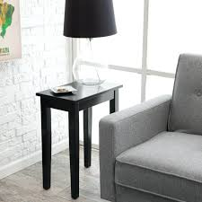 small skinny side table skinny side table small black uk tall narrow console folding