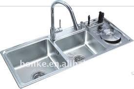 kitchen sink drainer stainless steel kitchen sink with dish drainer bk 8805 view
