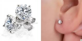 stud diamond earrings to choose the diamond stud earrings dazzling rock