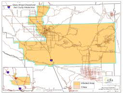 Map Of Orange County Ca Cdfa U003e Pierce U0027s Disease Control Program U003e Maps