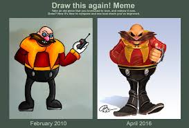 Eggman Meme - draw paint this again dr ivo robotnik by danny jay on deviantart
