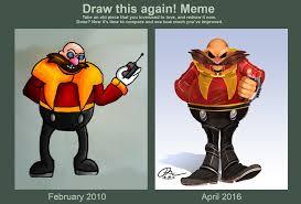 Eggman Meme - draw paint this again dr ivo robotnik by danny jay on deviantart