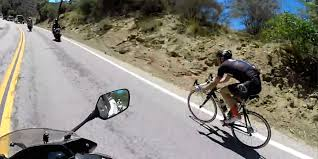 share the damn road cycling jersey bicycling pinterest road internal combustion defeated as bicyclist passes motorcycles