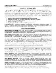shipping operations manager resume regional operations manager