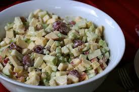 a recap and waldorf salad the merry gourmet