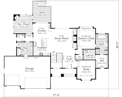 craftsman style house plan 5 beds 3 00 baths 3505 sqft luxihome