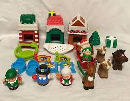thanksgiving figures fisher price christmas thanksgiving figures