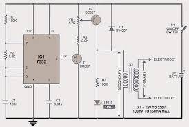 electronic muscle stimulator circuit