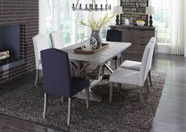liberty carolina lakes trestle dining set in weathered grey best