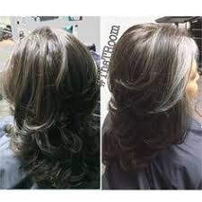 how to blend grey hair with highlights gallery silver highlights to blend gray women black hairstyle pics